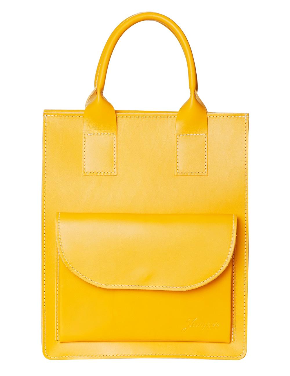 Klassisk väska i läder