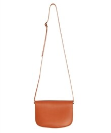 Bag Satchel Orange Back